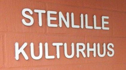 Foto af murvæggen på Stenlille Kulturhus