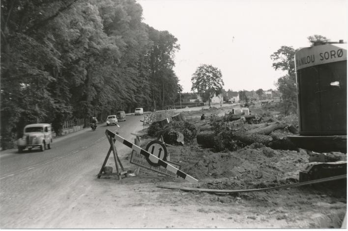 På billedet fra ca. 1957-59 ses Kongebroen