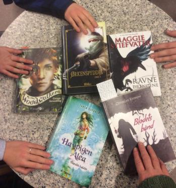 Foto af de anbefalede fantasybøger