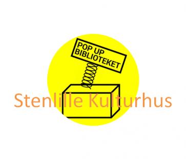 Logo til Pop Up biblioteket i Stenlille