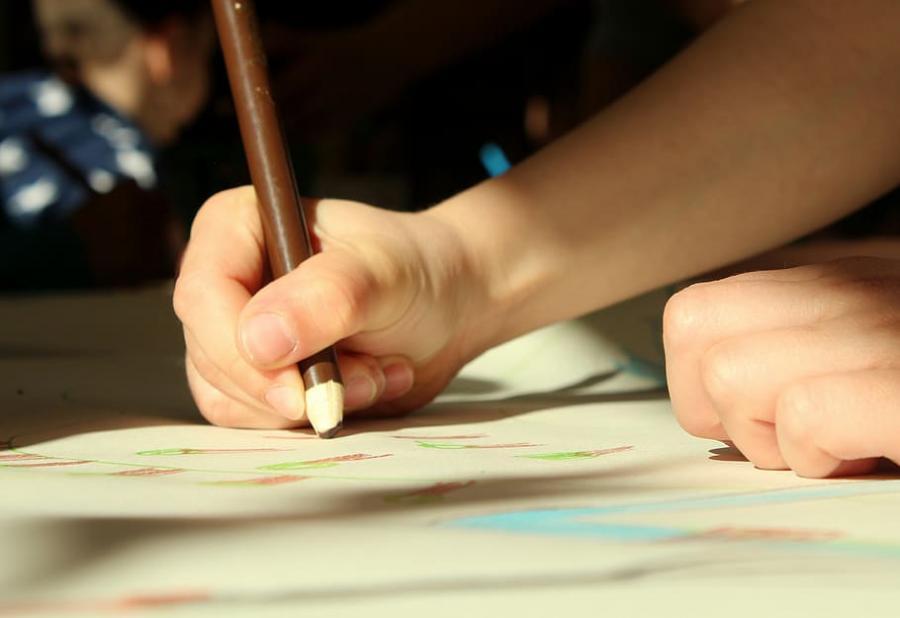 Tegne med blyant
