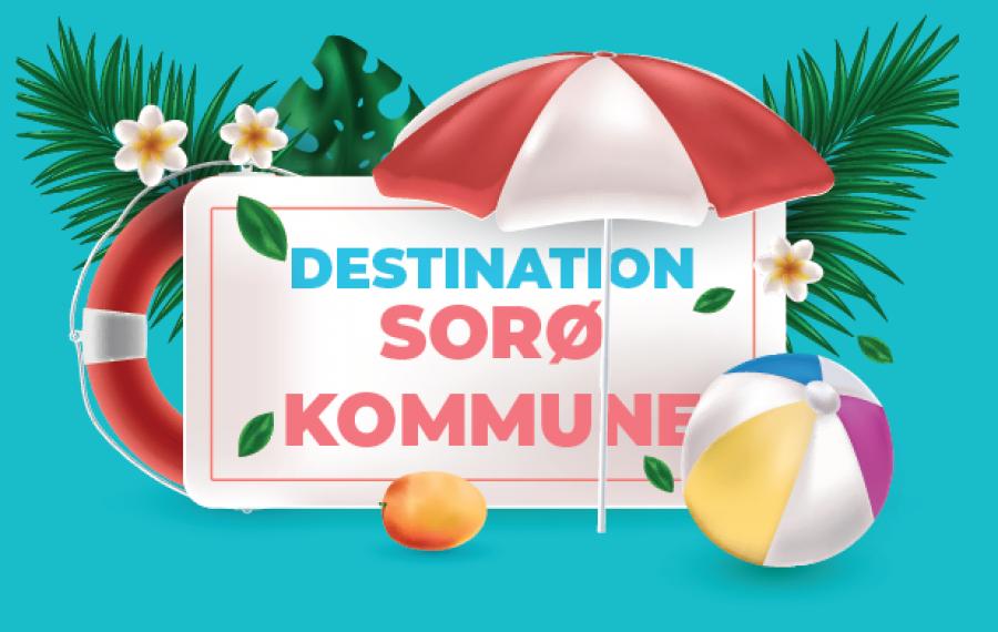 Plakat Destination Sorø Kommune